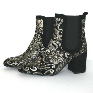 Stuart Weitzman Mediate NEW Embellished Boots
